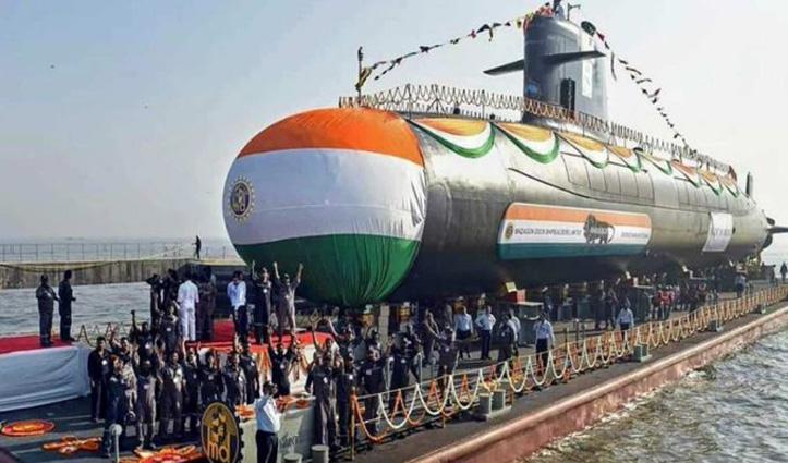 सबमरीन INS Karanj भारतीय नौसेना के बेड़े में शामिल, मेक इन इंडिया कैंपेन की बड़ी कामयाबी
