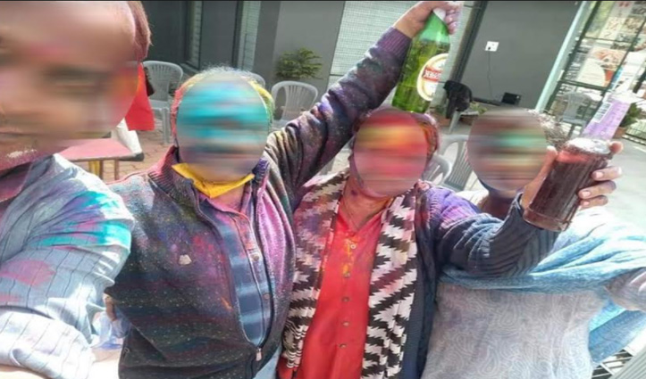 Himachal: निजी स्कूल में बीयर पार्टी, फोटो वायरल होने के बाद FIR