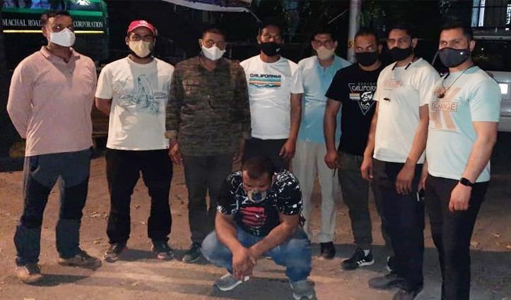 कुल्लू पुलिस ने हेरोइन तस्करी मामले में  दिल्ली में धरा नाइजीरिया का नागरिक