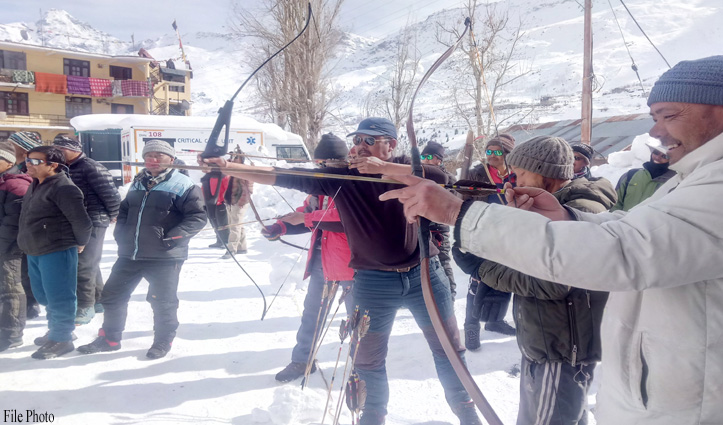 लाहुल में पारंपरिक परिधानों में होगी जिला स्तरीय तीरंदाजी प्रतियोगिता, जल्द करें आवेदन