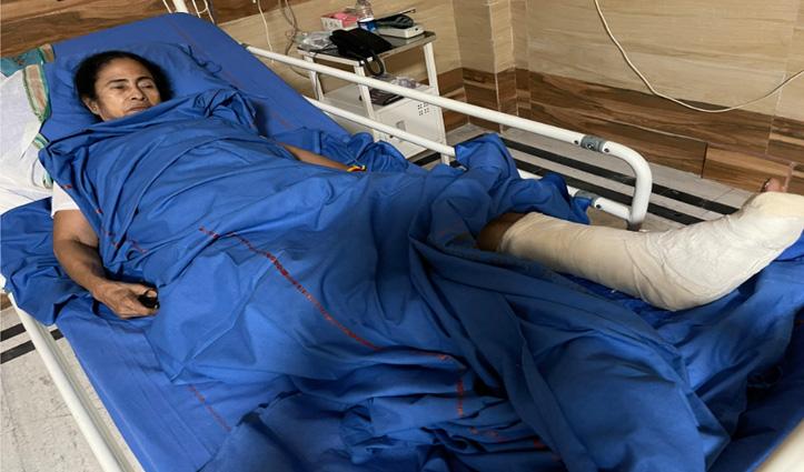 पश्चिम बंगाल चुनाव : ममता ने अस्पताल से वीडियो जारी किया, बोली व्हील चेयर पर करूंगी प्रचार