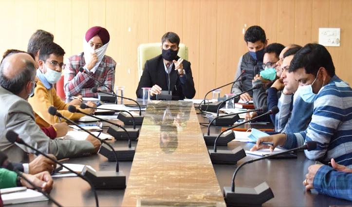 12 मार्च तक निपटाएं फोरलेन से जुड़े निशानदेही के लंबित मामले, डीसी ने दिए निर्देश