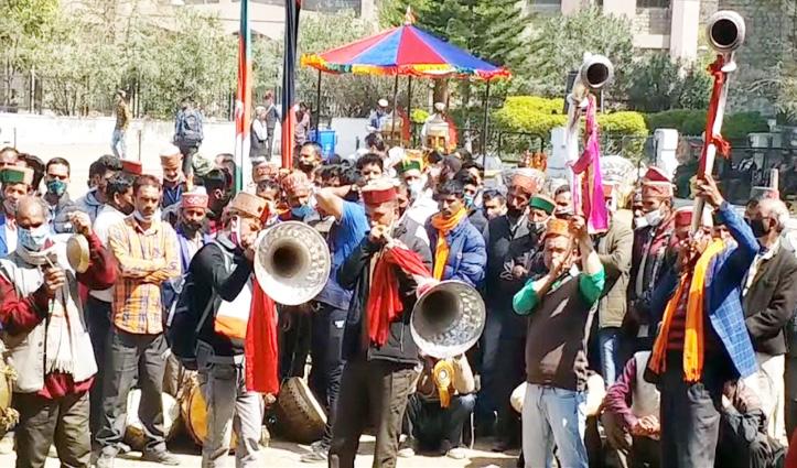 अंतरराष्ट्रीय शिवरात्रि महोत्सव में वाद्ययंत्र प्रतियोगिता का आगाज, देवलू- बजंतरी लेंगे हिस्सा