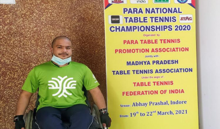 हिमाचल के पहले व्हील चेयर पैरा टेबल टेनिस प्लेयर पीयूष ने जीता पदक, सीएम ने दी बधाई
