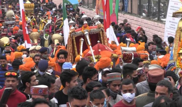 छोटी काशी में शुरू हुआ देव समागम, सीएम जयराम ने किया अंतरराष्ट्रीय शिवरात्रि महोत्सव का आगाज