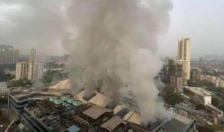 मुंबई : निजी कोविड अस्पताल में भड़की आग, दो की मौत, करीब 70 मरीज रेस्क्यू