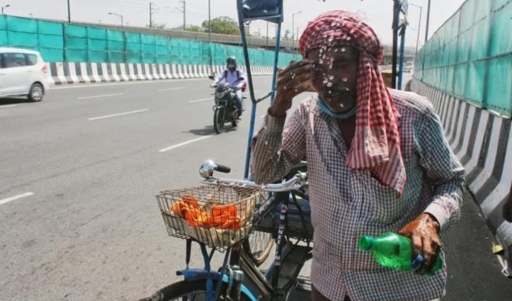 दिल्ली में आसमान से बरस रही आग, मार्च में गर्मी ने 76 साल का रिकॉर्ड तोड़ा