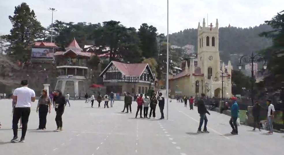 Holi festival seems to have faded in himachal amidst the growing outbreak of Corona