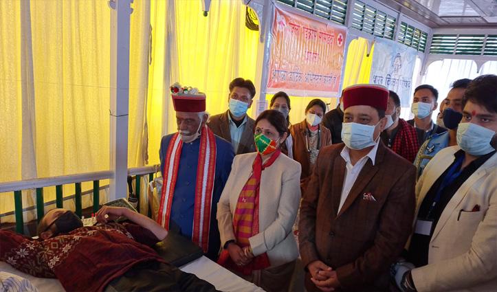 शहीदी दिवस : भगत सिंह, सुखदेव और राजगुरु की याद में प्रदेश भर में लगे रक्तदान शिविर