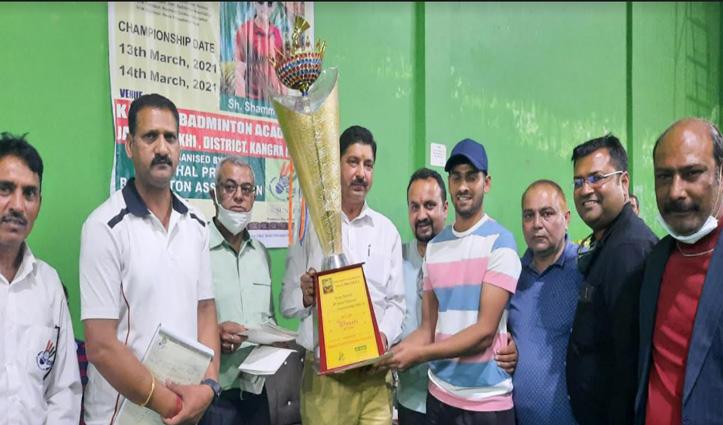 बैडमिंटन चैंपियनशिपः #Una के कर्ण और Kangra की रूबी बने विजेता