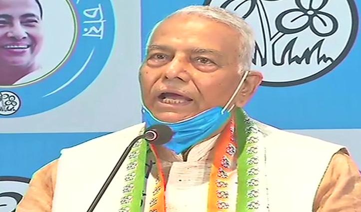 BJP के वरिष्ठ नेता यशवंत सिन्हा TMC में शामिल, बोले – सिर्फ दबाने में विश्वास करती है ये सरकार