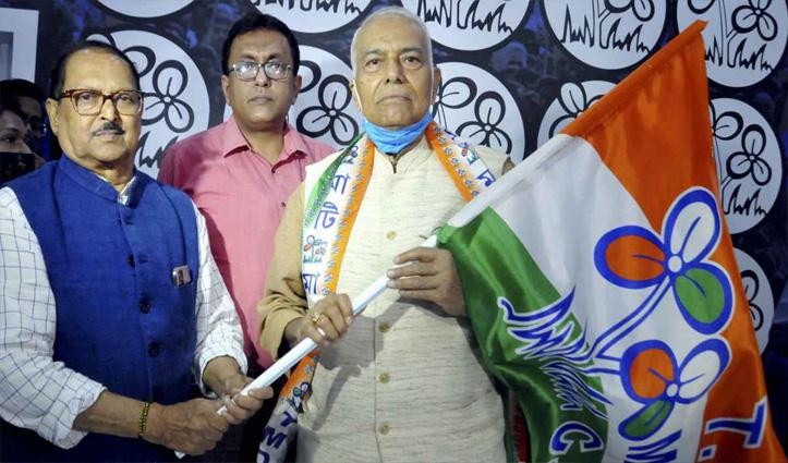 पूर्व केंद्रीय मंत्री यशवंत सिन्हा को TMC ने बनाया उपाध्यक्ष, राष्ट्रीय कार्यसमिति में भी शामिल