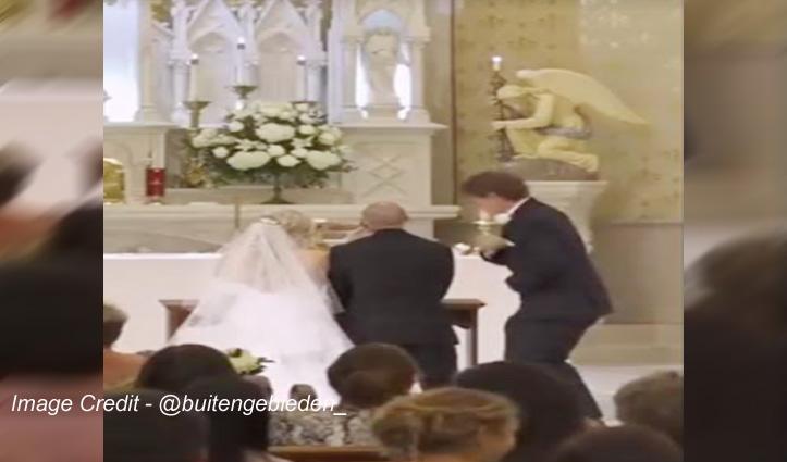 शादी में दोस्त ने की ऐसी हरकत, दूल्हा-दुल्हन के साथ हंसने लगे सभी मेहमान