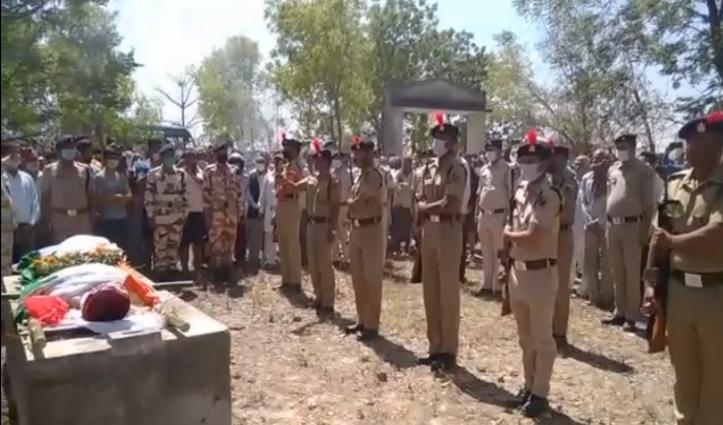 Himachal: जमीनी विवाद में जान गंवाने वाले ITBP जवान का राजकीय सम्मान से अंतिम संस्कार