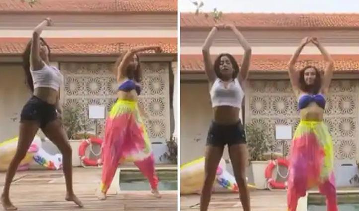 कार्डी बी के गाने पर जाह्नवी कपूर का जबरदस्त डांस, खूब वायरल हो रहा वीडियो
