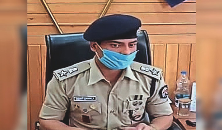शिमला के एसपी मोहित चावला कोरोना संक्रमित, होमआइसोलेट हुए