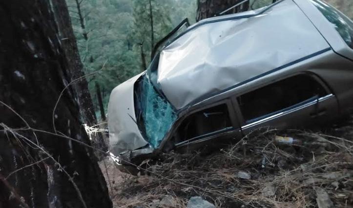 Himachal: कार लुढ़की, एक युवक की गई जान- दूसरा आईजीएमसी रेफर