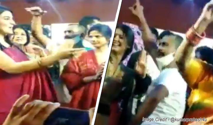 मुन्ना शुक्ला के कार्यक्रम में नाइट कर्फ्यू की धज्जियां उड़ी, एक्ट्रेस अक्षरा सिंह सहित 200 पर केस