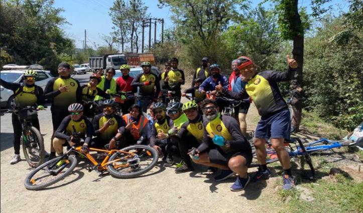 Himachal : चंडीगढ़ से सोलन पहुंची साइकिल रैली, क्या है उद्देश्य; जानने के लिए करें क्लिक