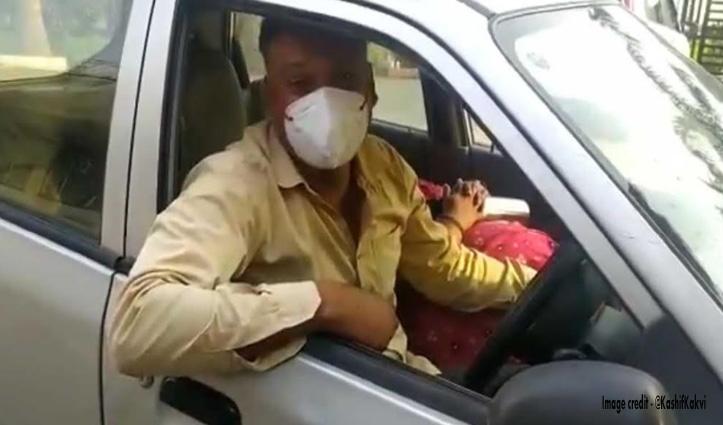 """कोरोना पीड़ित पत्नी को लेकर भटकता रहा BSF जवान, बोला – """"देश के लिए मरते हैं हमारी फैमिली को पूछते नहीं"""""""