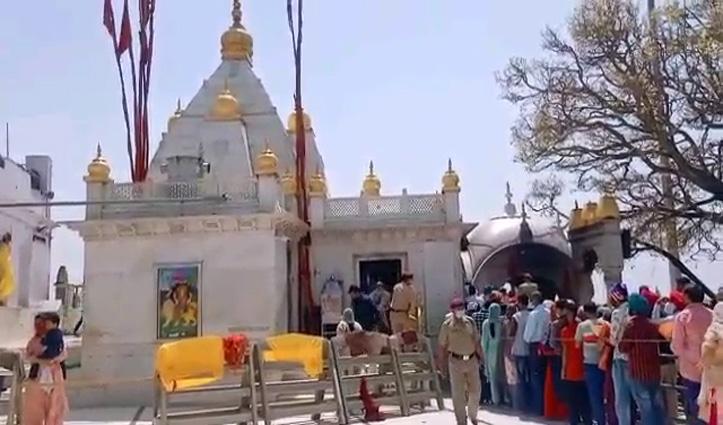 नवरात्र मेले को श्री नैना देवी मंदिर तैयार, ये रहेंगी व्यवस्थाएं- जानिए