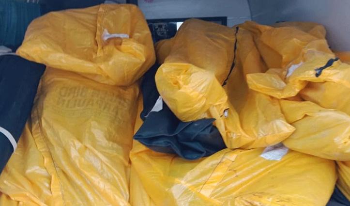 बीड़ में एक ही एंबुलेंस में ले जाए गए 22 कोरोना पीड़ितों के शव- मचा हंगामा