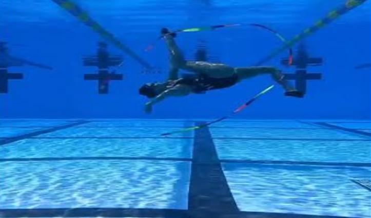पानी के अंदर महिला ने दिखाए ऐसे करतब, वीडियो देखकर आप भी कहेंगे