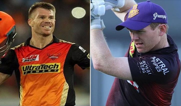 #IPL2021 आज भिड़ेंगे दो विदेशी कप्तान, #SRHvsKKR के बीच होगी टक्कर