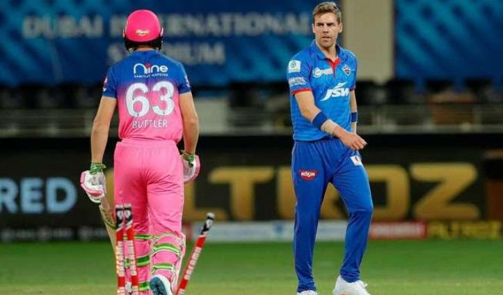 #IPL2021 : 156.2 KMPH की गेंद फेंकने वाले दिल्ली कैपिटल्स के नोर्तजे कोरोना पॉजिटिव