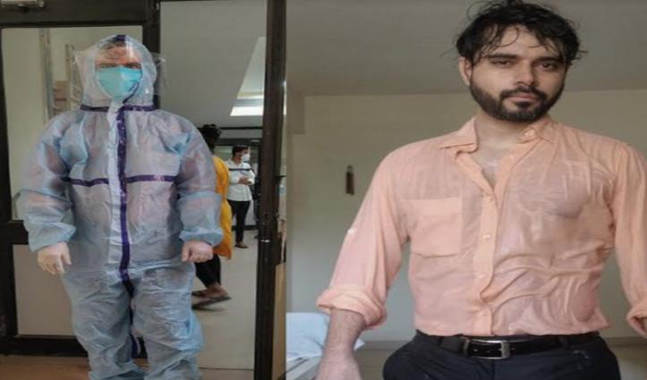 डॉक्टर ने शेयर की पीपीई किट उतारने के बाद की फोटो, लोगों ने दिल से किया सलाम