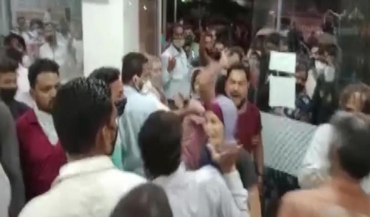 महाराष्ट्र : ऑक्सीजन की कमी से सात कोरोना मरीजों की मौत! तीमारदारों का हंगामा