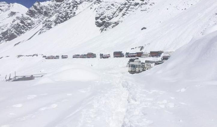 Himachal : मनाली-लेह मार्ग बहाल होने के 24 घंटे बाद फिर बंद