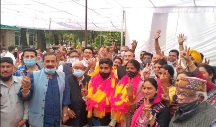 पालमपुर नगर निगमः कवरिंग कैंडिडेट के तौर भरा था नामांकन, अब बन गए डिप्टी मेयर