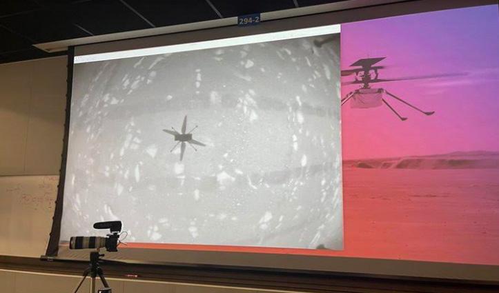 NASA ने रचा इतिहास : मंगल ग्रह पर उड़ाया हेलीकॉप्टर, जारी की वीडियो-फोटो