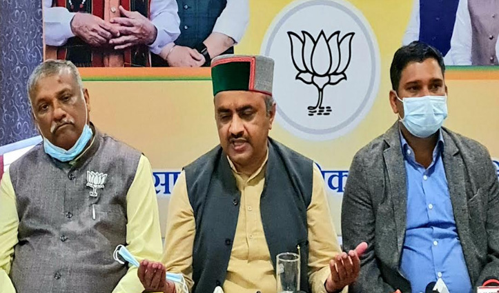 #Solan में Congress पर बरसे जयराम के दो मंत्री, वीरभद्र सिंह से पूछे सवाल