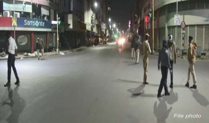 Corona curfew imposed in  four districts of himachal