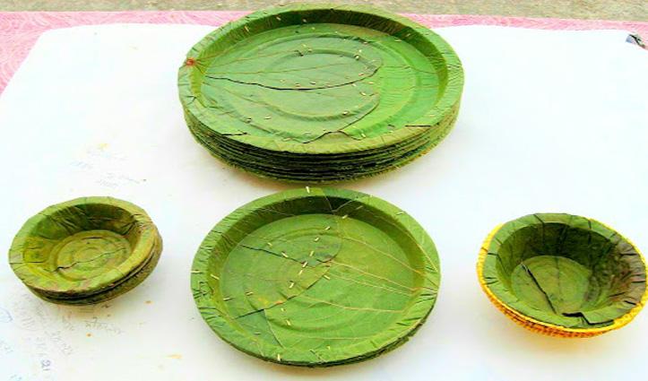 Himachal और दिल्ली के होटलों में प्लेट के स्थान पर पत्तलों में परोसा जाएगा खाना