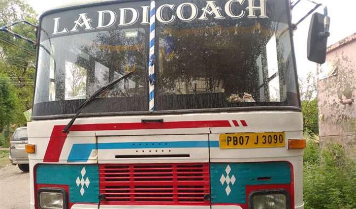 Himachal : नकली कागजात लेकर हिमाचल में घुस रही थी पंजाब की बस, पंडोगा बैरियर पर पकड़ी