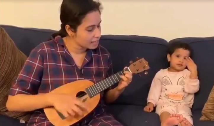 मां-बेटी की कमाल जुगलबंदी, वीडियो देख आपका भी दिल आ जाएगा