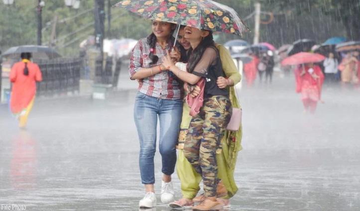 Himachal में बदला मौसम, शिमला सहित कई क्षेत्रों में झमाझम बरसे मेघ; बर्फबारी भी हुई