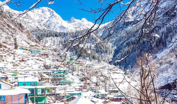 Himachal : बर्फबारी के साथ हुई झमाझम बारिश, मनाली-लेह मार्ग और अटल टनल बंद