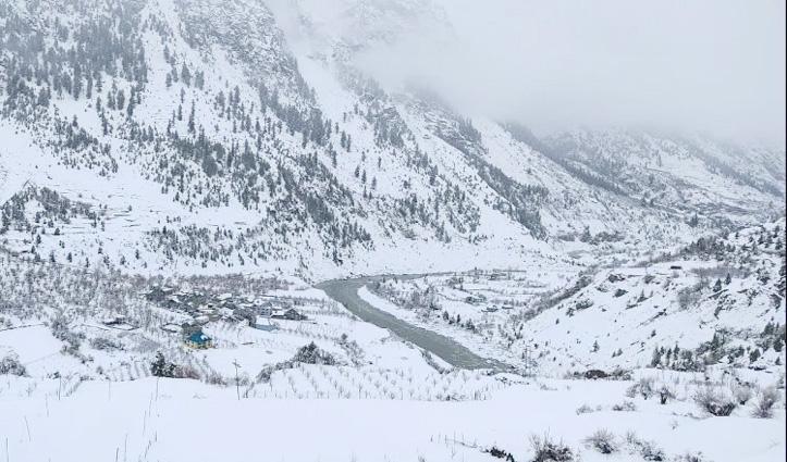 Himachal Weather  : बर्फ से लकदक हुए पहाड़, प्रदेश में बारिश और ओलावृष्टि ने मचाई तबाही