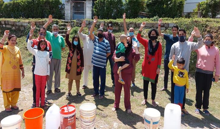सीएम जयराम के घर पर पानी की जंग, मचा हुआ है हाहाकार - सुनो इनकी पुकार