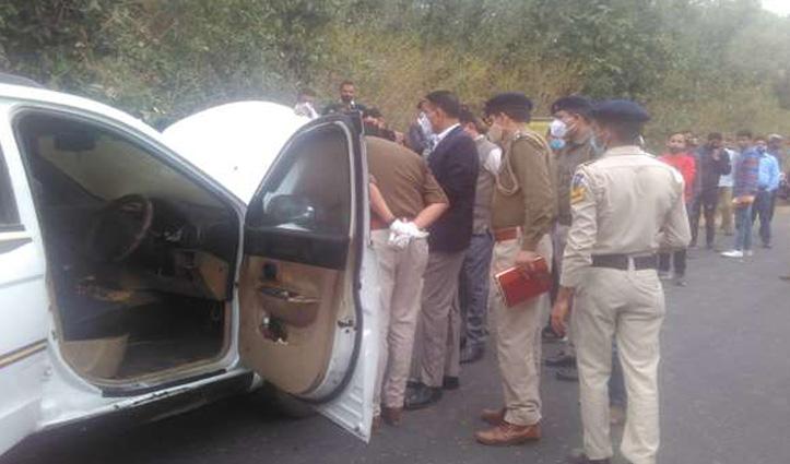 Himachal : टैक्सी में मिली चालक की अधजली लाश, हत्या का मामला दर्ज