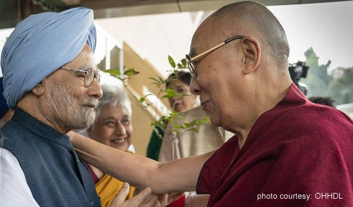 The Dalai Lama wishes Dr Manmohan Singh speedy recovery from Covid-19