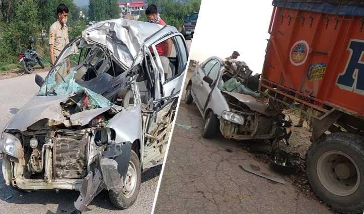 हिमाचल में दर्दनाक Accident- दो भाईयों की मौत,एक क्लिक पर देखें तस्वीरें