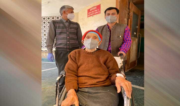 102 की उम्र में कोरोना से जीती जंग