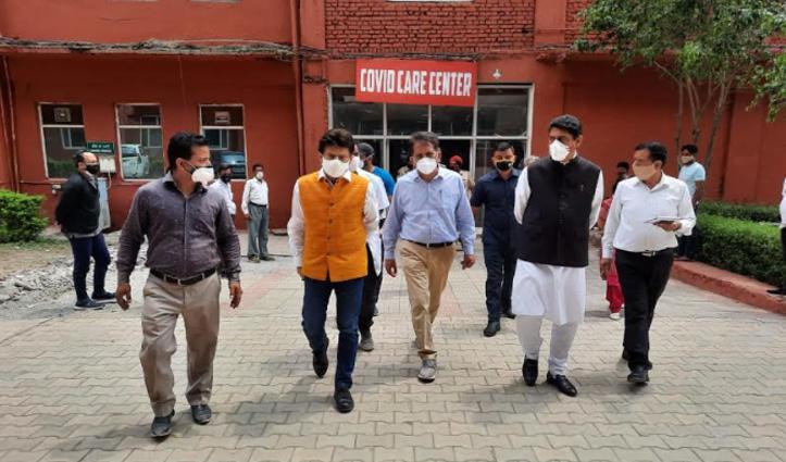 पठानिया बोले- Nurpur Hospital में शुरू होगा 50 बिस्तरों का कोविड केयर सेंटर