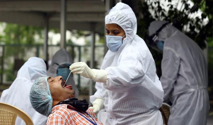 कोरोना का हल्ला लगा बढ़ने-देश में संक्रमण के 44, 230 नए मामले