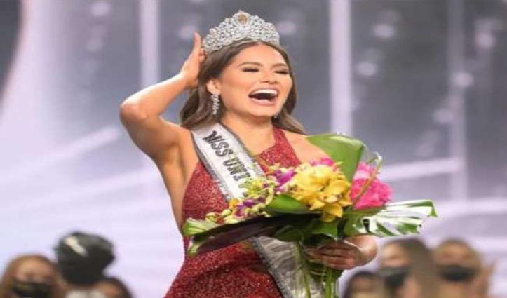 Miss Universe:मेक्सिको की एंड्रिया मेजा को खिताब-भारत की एडलिन ने टाॅप-5 में बनाई थी जगह